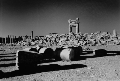 Destruction of the Temple of Bel, Palmyra, Syria