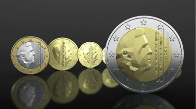 Erwin Olaf's design selected for the Dutch euro coin