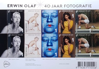 Erwin Olaf's photographs on the Dutch Stamp
