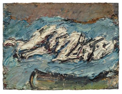 Frank Auerbach, Early Works 1954 - 1978