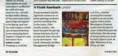 Frank Auerbach: Guardian