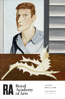 'Lucian Freud: The Self-portraits' at the Royal Academy of Arts supported by Offer Waterman, London