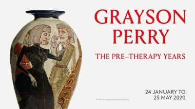 Grayson Perry at the Holburne Museum