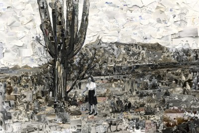 vik muniz, album: sonora, 2014