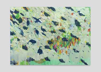 bruno dunley, Audiência, da série Bestiário , 220 x 300 cm
