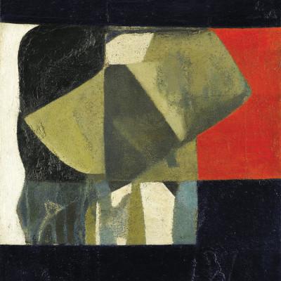 Sandra Blow, Composition Black & Red