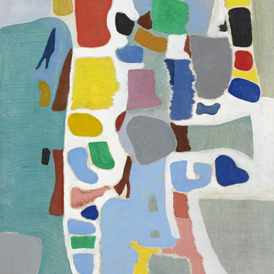 Caziel, WC776 - Composition 1967.3 (Pataraqa), 1967