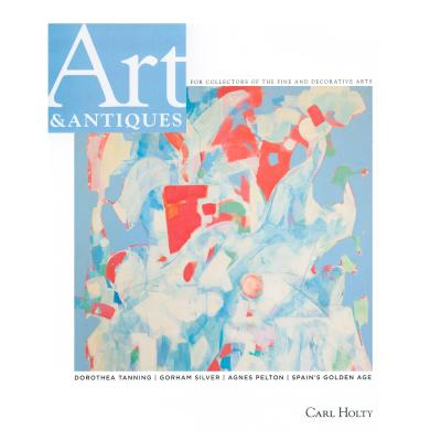<p><span>CARL HOLTY ON THE COVER OF THE MAY ISSUE OF ART & ANTIQUES</span></p>-<p><span>'Carl Holty, a bridge between European modernism and the American art scene of the '60s and '70s, found original solutions to some of the deepest problems in abstract painting.' -John Dorfman (Art & Antiques Magazine)</span></p>