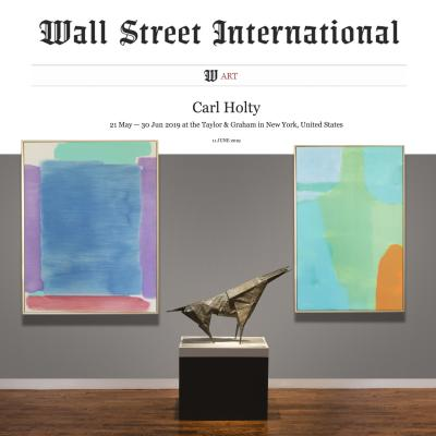 <p><span>CARL HOLTY | WALL STREET INTERNATIONAL | ART</span></p>-<p><span>Carl Holty was a major proponent of Modernism in the United States and a contributory influence to the world of American painting.</span></p>
