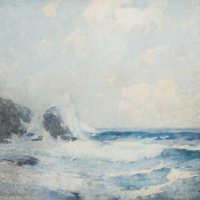 Full Tide, Coast of Maine-Soren Emil Carlsen