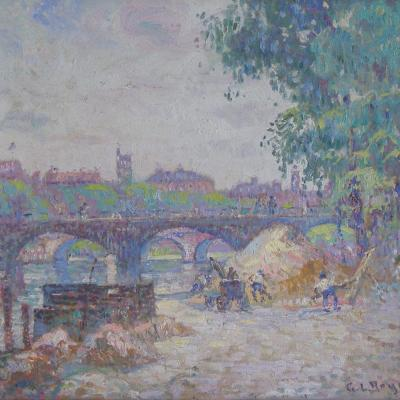 View to the Seine-George Loftus Noyes