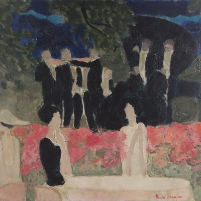 Le Pavillon Royal (Bois de Boulogne)-André Brasilier