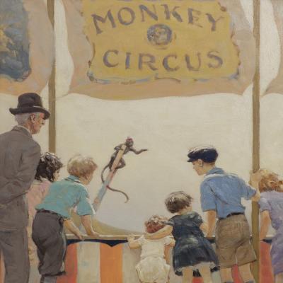 Monkey Circus-Victor Coleman Anderson