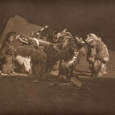 Group of Winter Dancers—Quágyuhl-Edward Sheriff Curtis