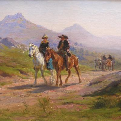 On the Road, Pyrenees-Rosa Bonheur