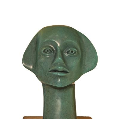 Fluted Head-Elizabeth Catlett