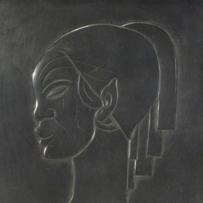 Profil de Femme-Boris Lovet-Lorski