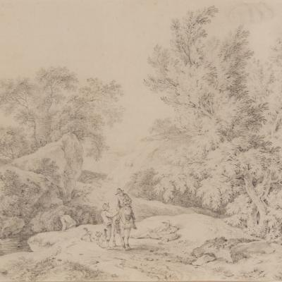 Landscape with Travelers Resting