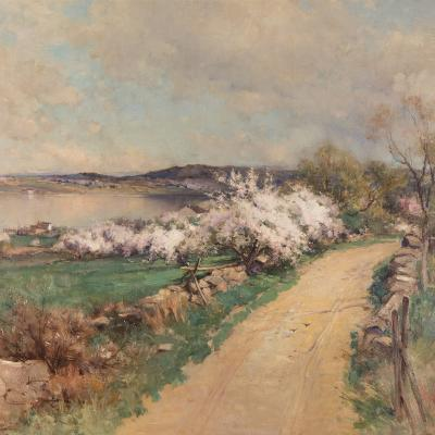 Springtime on the River-George Henry Smillie