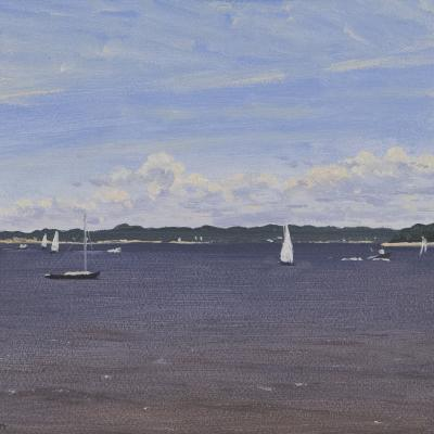 Gardiner's Bay, Early July, East Hampton