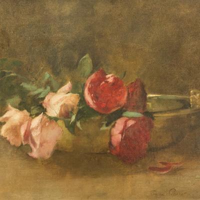 Roses in a Dish-Soren Emil Carlsen