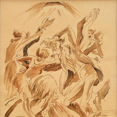 The Square Dance-Thomas Hart Benton