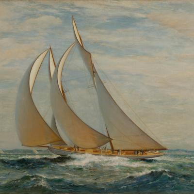 New York Club Regatta: The Big Schooner Class