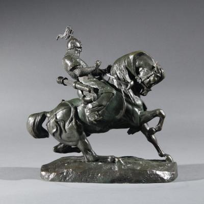 Tartar Warrior-Antoine-Louis Barye
