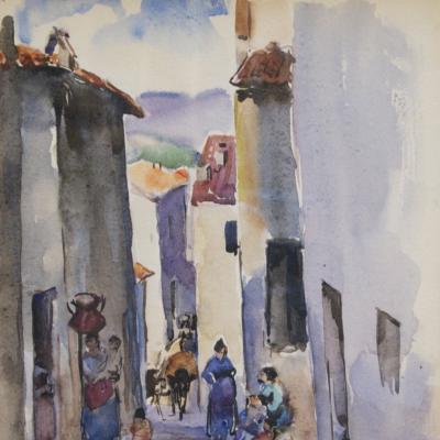 Spanish Steps-Martha Walter