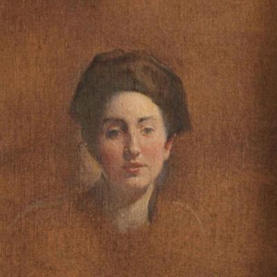 Portrait of a Woman-John White Alexander