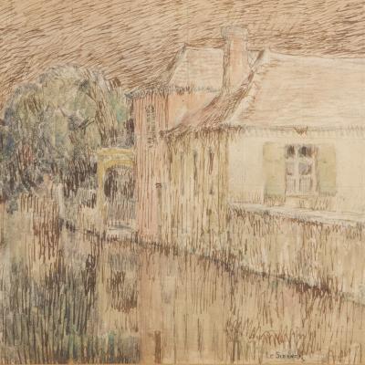 Maison sur le Canal, Nemours