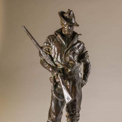 The Hiker-Allen George Newman