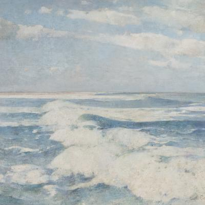 Side Running Sea-Soren Emil Carlsen