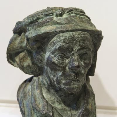 Bust of an Old Woman-Emile Antoine Bourdelle