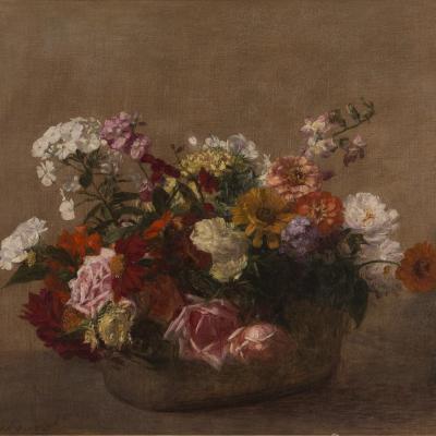 Nature Morte avec Fleurs-Victoria Dubourg Fantin-Latour