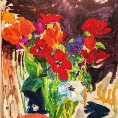 Summer Flowers-Mary Abbott