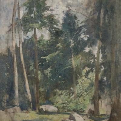 Forest Clearing-Soren Emil Carlsen