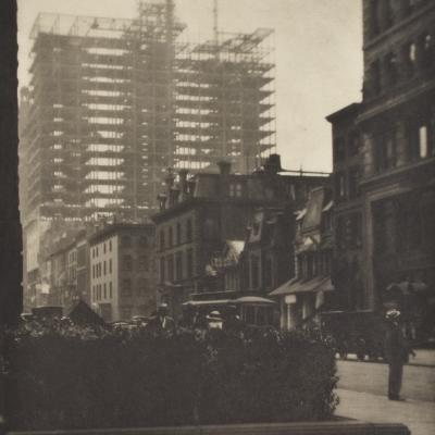 Old and New New York-Alfred Stieglitz