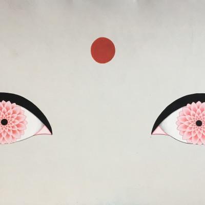 Olivia Fraser, Lotus Eyes, 2018