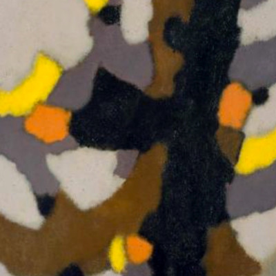 William Gear, Vertical Motif, 1959