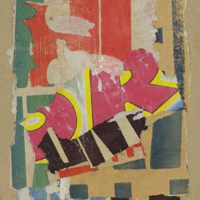 Arthur Aeschbacher, Lyrisme lacéré, 1965