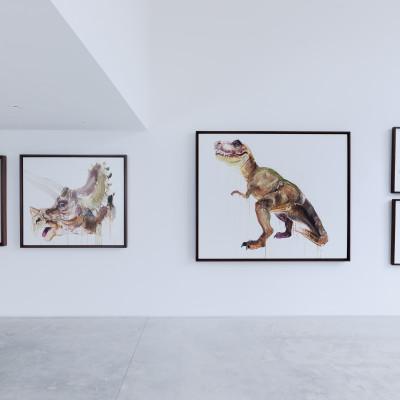 Extinct @ Hang Up Gallery Photo Credit: Simon Kallas