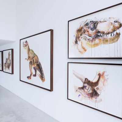 Extinct @ Hang Up Gallery