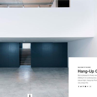 Hang Up Gallery Interview
