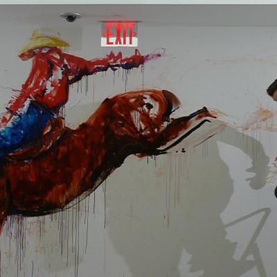 Mural for Aol New York