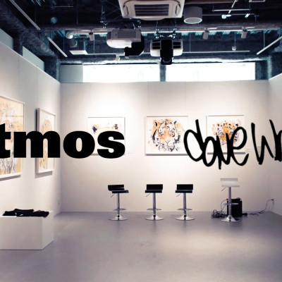 atmos x Dave White , Exhibition and Apparel Collection Launch in Tokyo