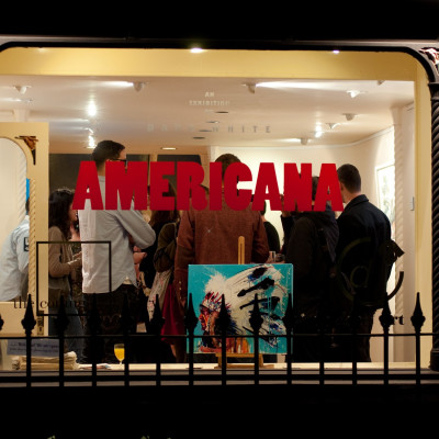 Americana Private View Opening