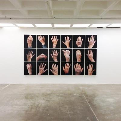 Steve Sabella's exhibition Layers @ CAP Kuwait