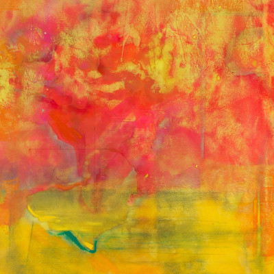 Middle Passage (detail), 1970, Acrylic and silkscreened ink on canvas, 321 x 281 cm