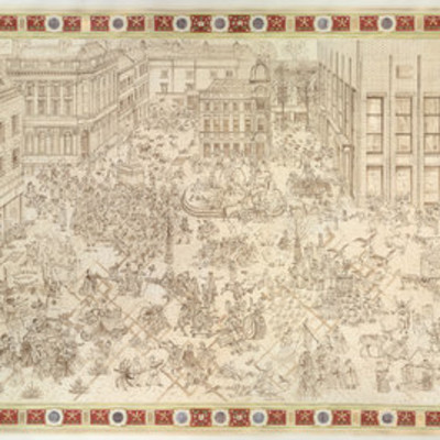Adam Dant at The New Art Gallery, Walsall and The Neuberger Museum of Art, NYC